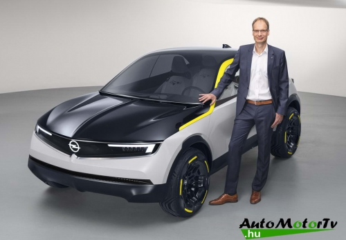 Michael Lohscheller with 2018 Opel GT X Experimental AutoMotorTv